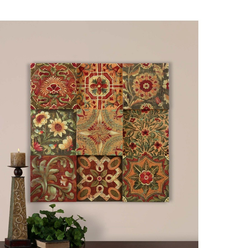 Wall Blocks French Country TUSCAN Wall Decor