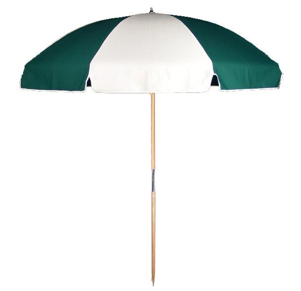 7.5' Commercial Wood Beach Umbrella | Umbrella Source