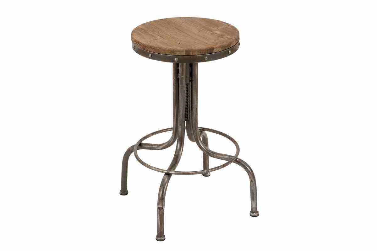 Metal Wood Popular Industrial Style Bar Stool W80993