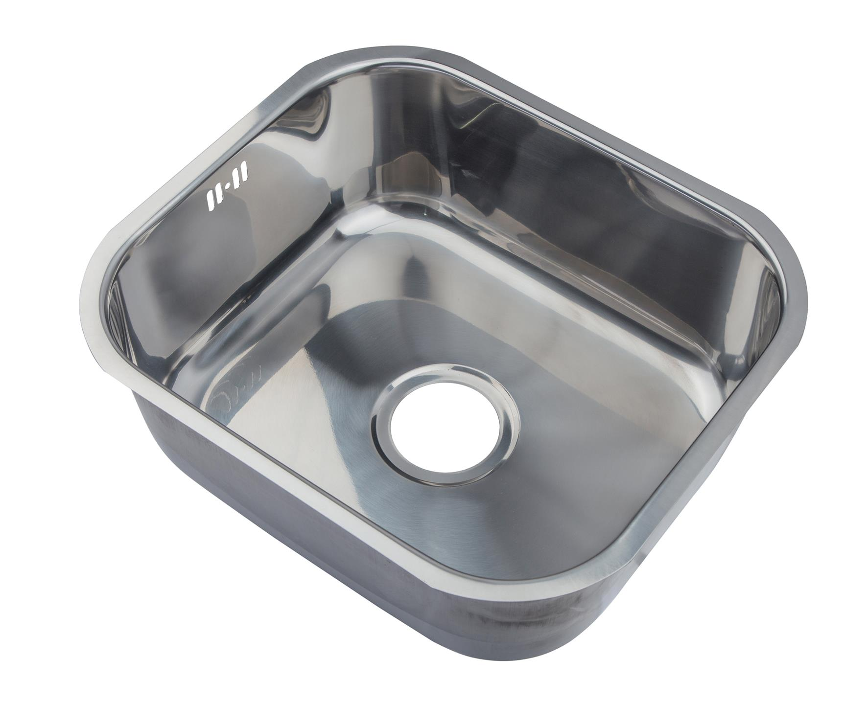 Stainless Steel Undermount Under Counter Kitchen Sinks Choice 1 0 OR 1 5 OR 2
