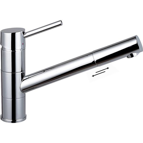 Single Lever Monobloc Pull Out Amp Swivel Spout Kitchen Sink