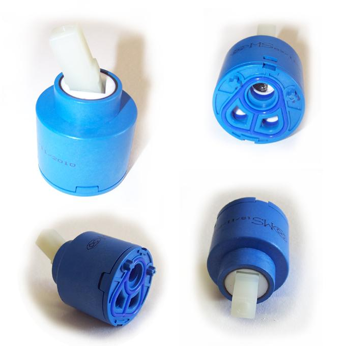 Spare Replacement 40mm Ceramic Disk Valve Cartridge For