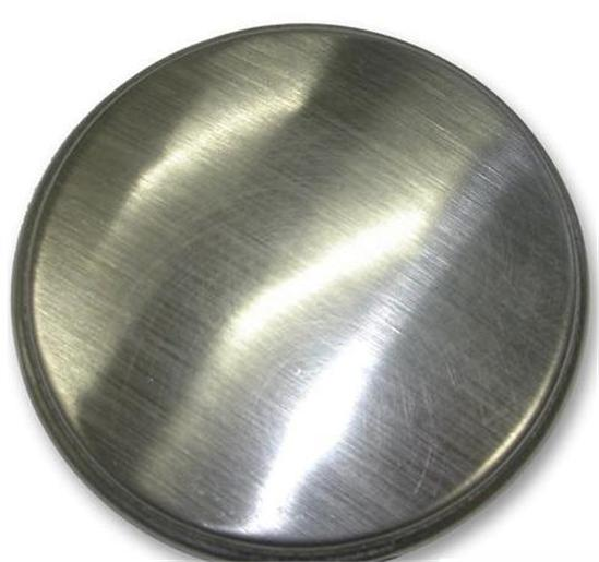 kitchen sink tap hole blanking plug cover plate disk polished or