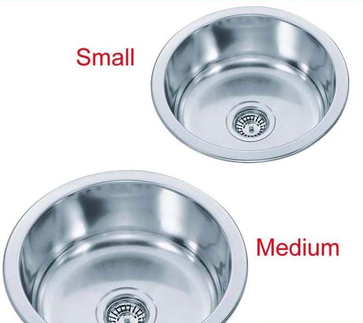 Small Round Kitchen Sink