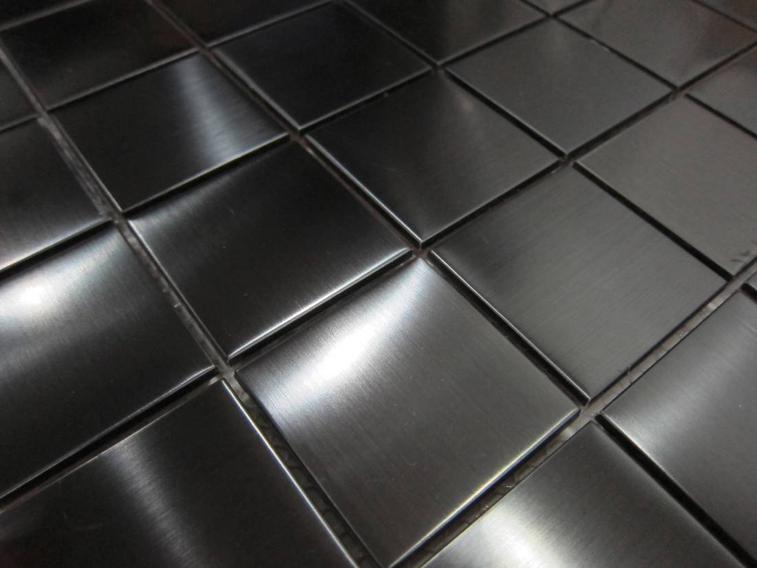 Stainless Steel Mosaic Tiles Sheets Bathroom Kitchen Splashback Tile Mosaics Ebay