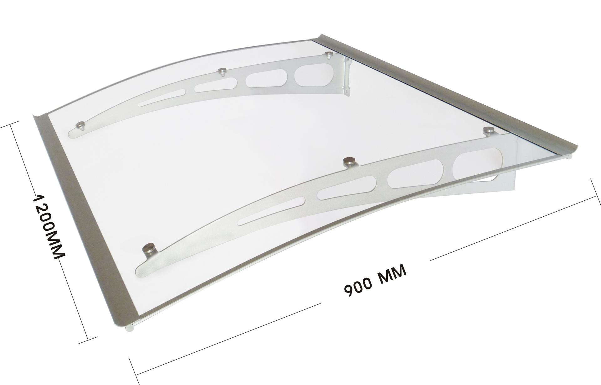 door canopy fitting instructions