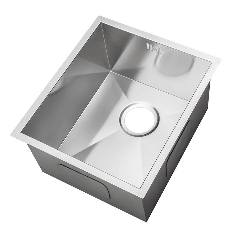 klein nullradius handgefertigtes eckiges sp lbecken f r den unterbau ds005 ebay. Black Bedroom Furniture Sets. Home Design Ideas