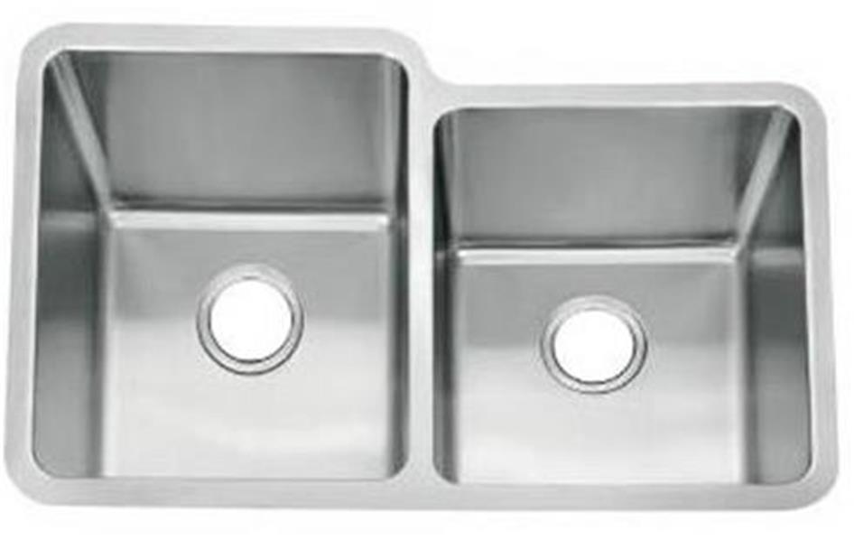 Undermount 1 5 bowl kitchen sink brushed stainless steel - Kitchen sink clips extra long ...