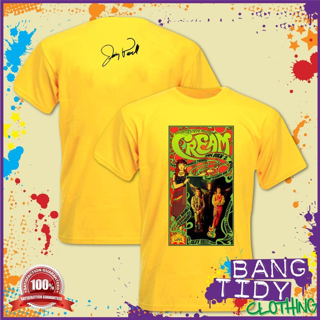Jimmy Powell Eric Clapton Rod Stewart Poster Mens T Shirt