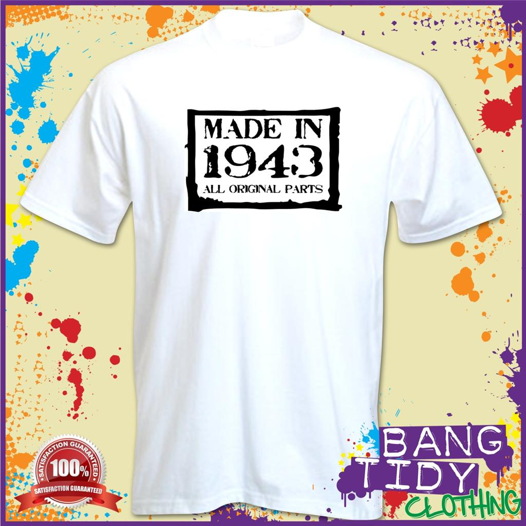 gift boxed made 1943 fun 70th birthday funny novelty t