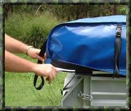 Beautiful 12 DAY OFF ROAD Camper Trailer HIRE RENTALCAIRNS To CAPE YORK QLD