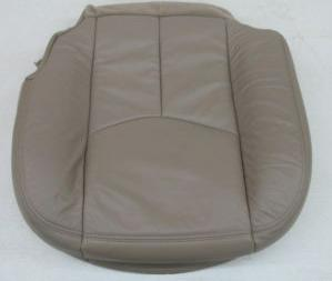 03 04 05 06 Chevy Silverado OEM Leather Seat Cover Tan GM