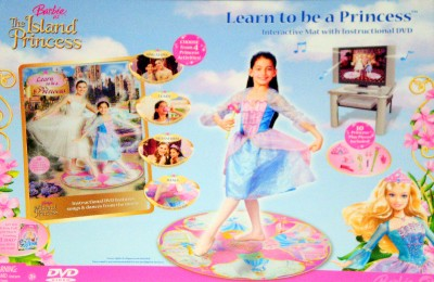 06 Barbie in The 12 Dancing Princesses Dance Mat ...