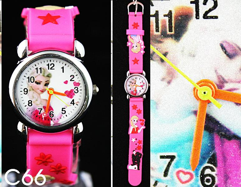 new creative Fashion Multicolor 3D Cartoon Children's Watch Party Xmas gift