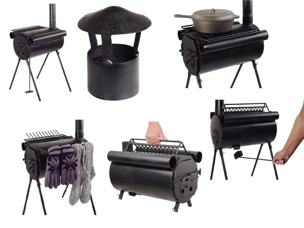 Portable Military C&ing Tent Steel Wood Stove Heater Wholesale  sc 1 st  timbuchman & Camp Wood Stove ~ Interiors Design