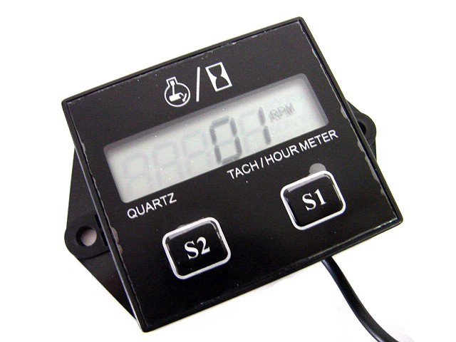 Tachometer With Hour Meter : Buy hour meter tachometer for outboard mercury yamaha nissan