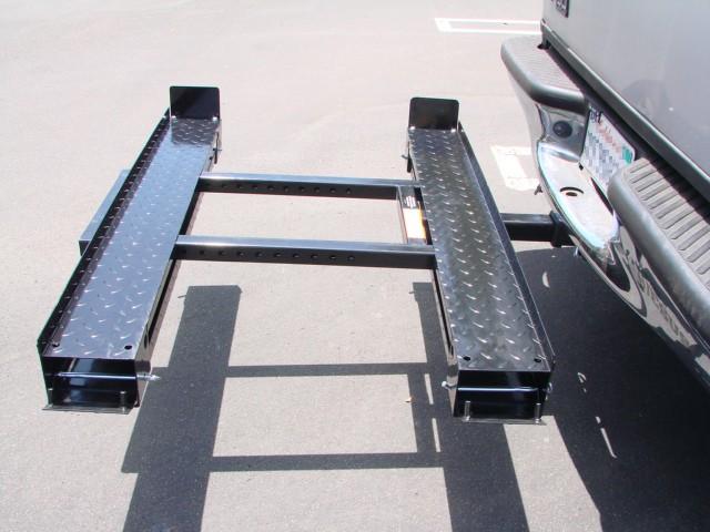 Lawn Tractor Cargo Rack : Double rail atv lawn mower garden tractor cargo hitch