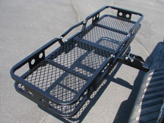 Folding Cargo Carrier Luggage Basket 2 Receiver Hitch Truck SUV Pick Up Hauler EBay
