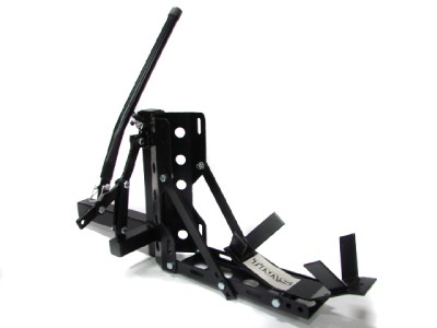 """Motorcycle 2"""" Receiver Trailer Hitch Carrier Pull Behind Hauler Tow Towing Rack 