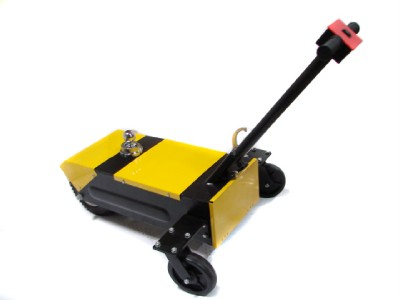 Automatic boat jack motorized mover trailer all boats for Motorized hand truck dolly