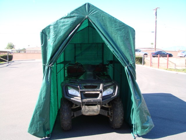 Motorcycle Metal Canopy : Portable motorcycle cruiser bike jetski atv tent canopy