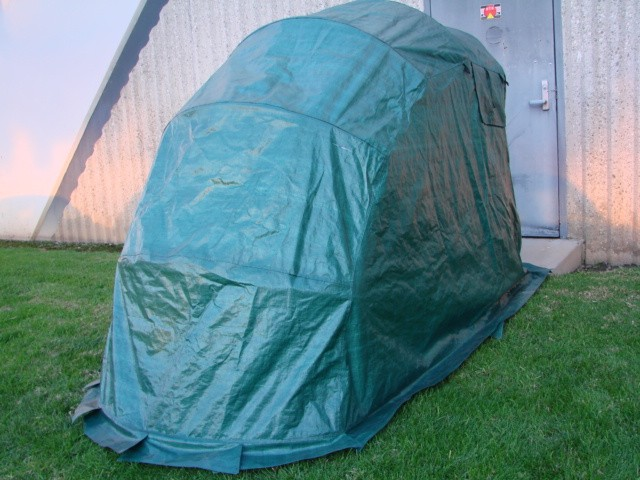 Portable Motorcycle Shelter : Motorcycle storage shed shelter plans guide
