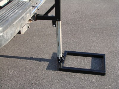 Hitch Mount Cargo Carrier Lift Hauler Trailer Jack