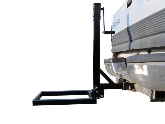 Trailer Hitch Lift : Hitch mount cargo carrier lift hauler trailer jack