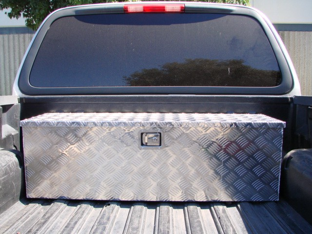 Truck bed box goose neck truck tailgate tool box - Pickup bed storage boxes ...