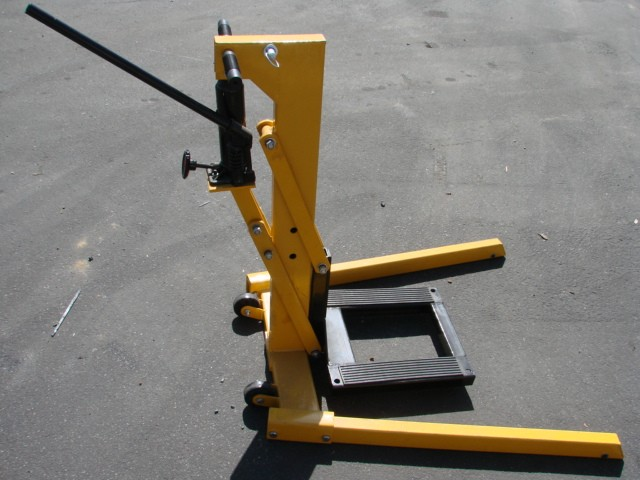 Hydraulic Lift Examples : Motorcycle lift jack hydraulic stand fit for all model
