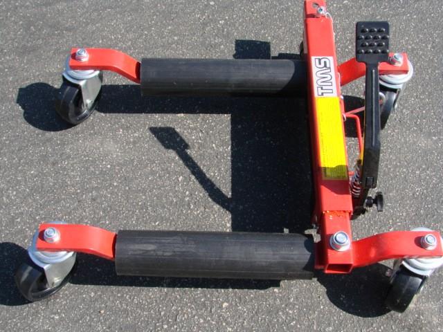 Hydraulic Dolly Lift : Rtn hydraulic vehicle dolly go under car quot wheel jack