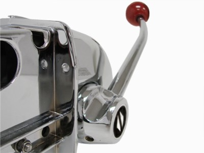 Chrome Marine Boat Engine Outboard Top Mount Single Control Shift Throttle Lever