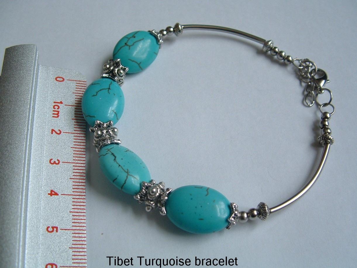 Bracelet-Tibet-silver-Gemstone-jewellery