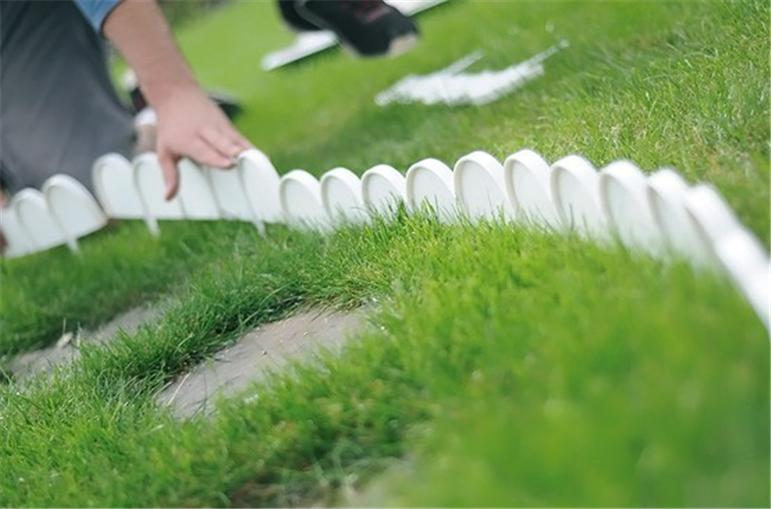 Kra garden fence kerb lawn edging boarder edge fencing - Plastic border for garden ...