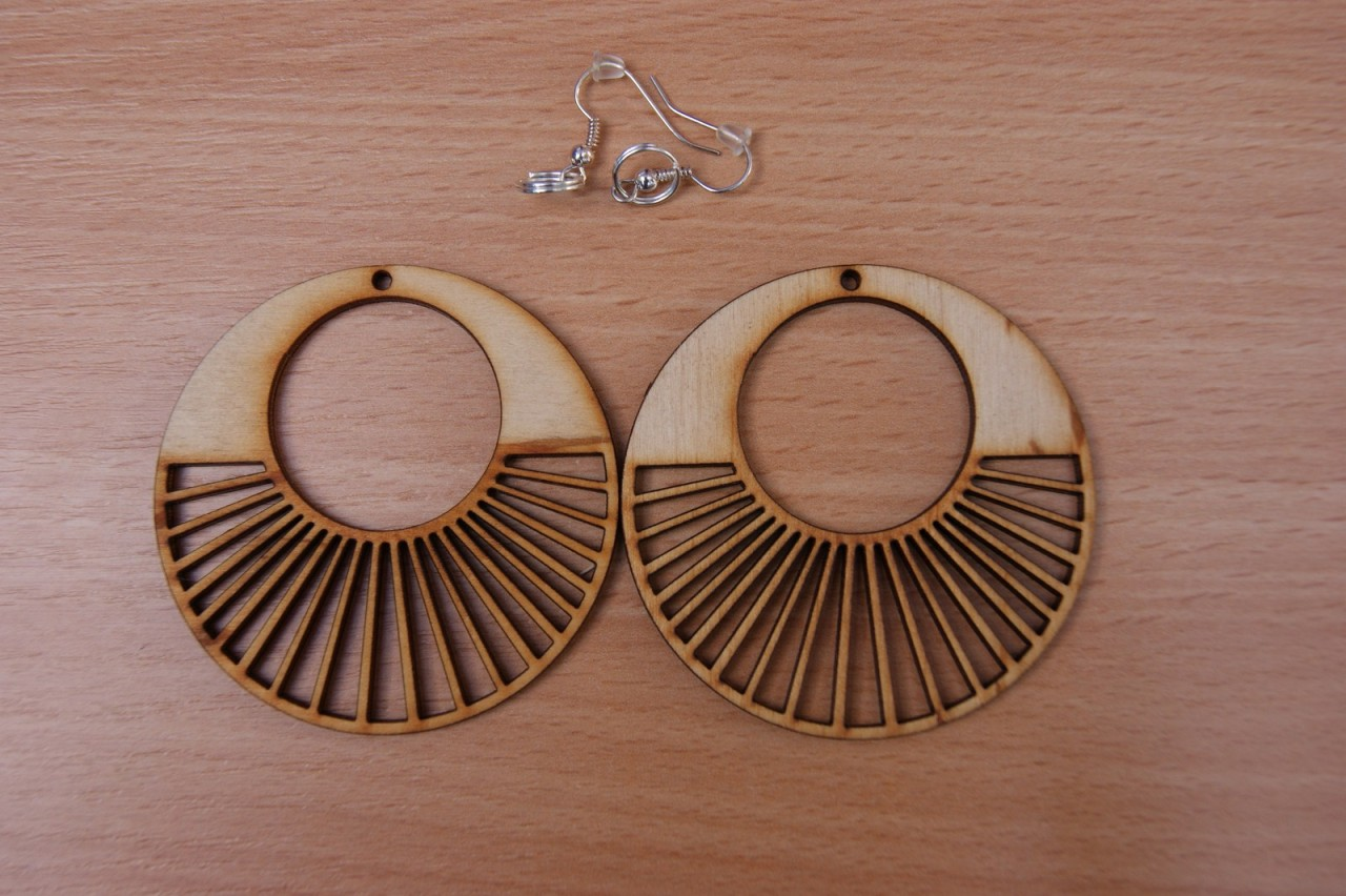plain wooden earrings many shapes decoupage craft