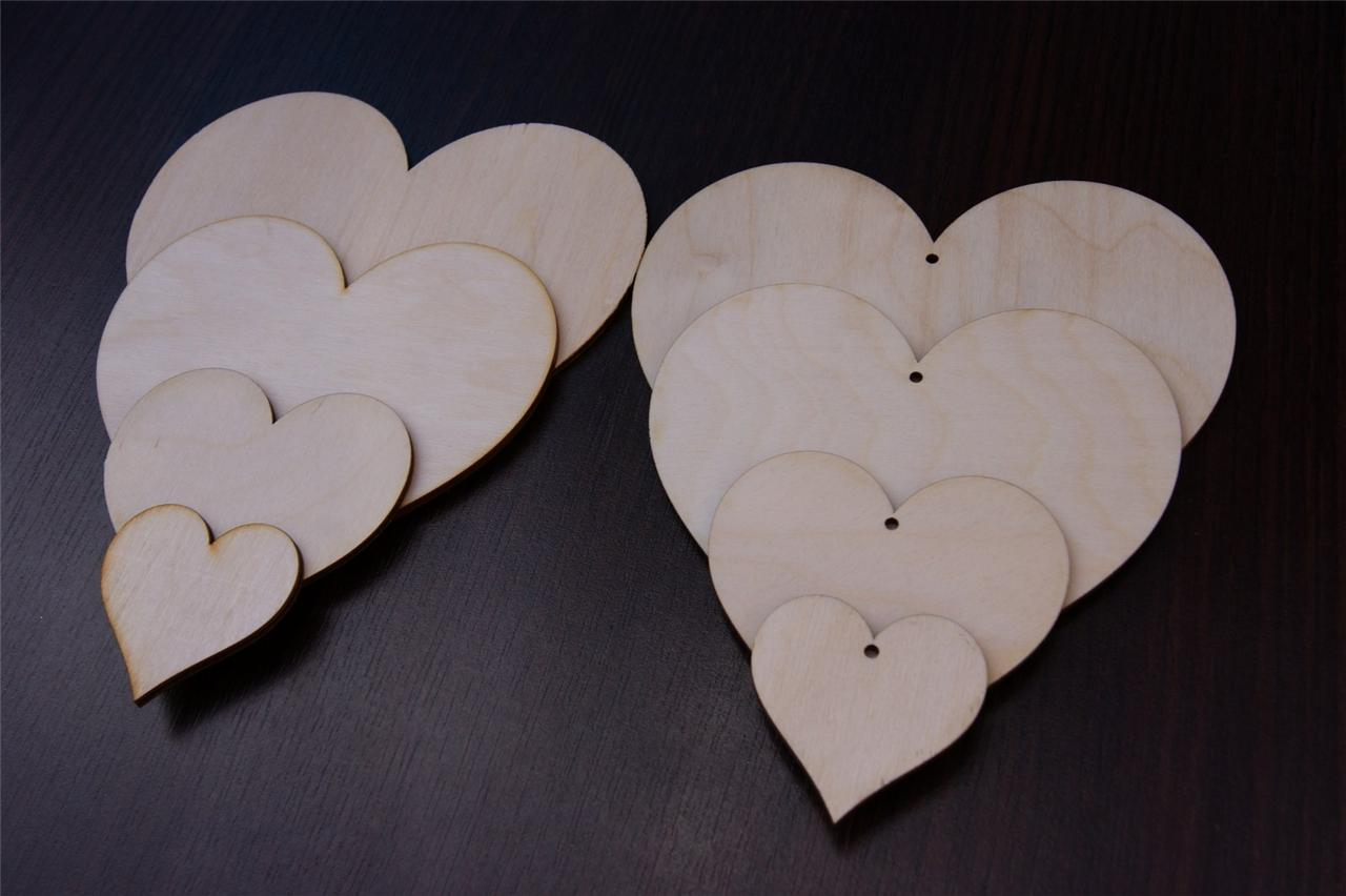 Large-Wooden-Hearts-Embelishments-Small-Hearts-Wooden-Shapes-Hanging-Hearts