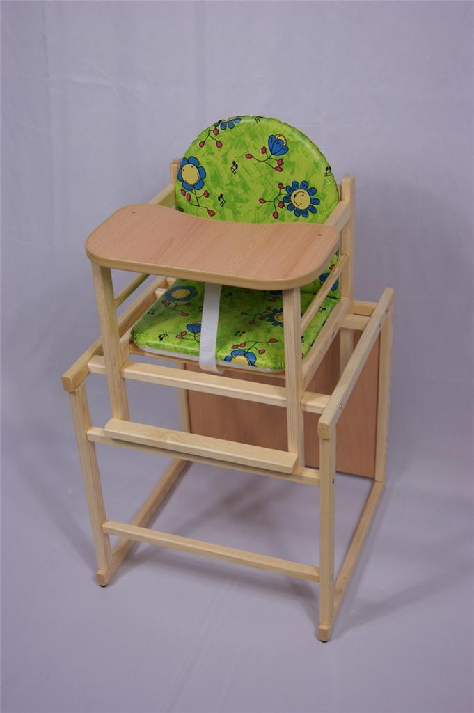 Feed ME NOW Wooden High Chair Toddler Child S Table Chair