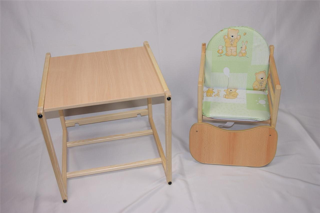 Feed-me-now-Wooden-High-Chair-Toddler-Childs-Table-Chair-Boy-Girl-Highchair