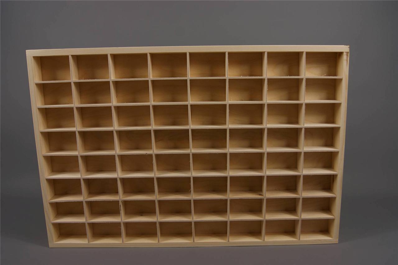 Wooden Display Shelf ~ Citadel paints miniatures display shelves wooden unit