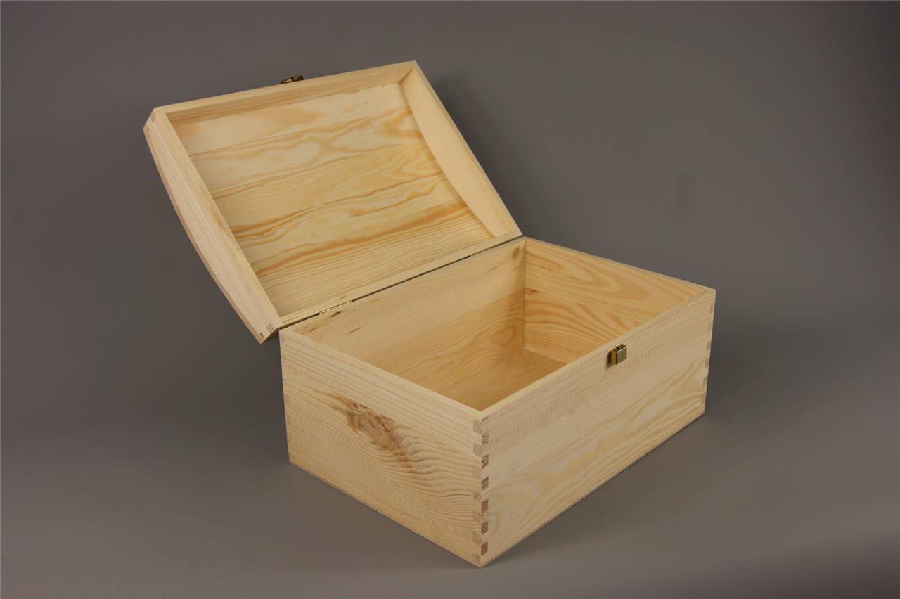 X LARGE TREASURE CHEST PLAIN WOODEN BOX DECOUPAGE CRAFT : 766793751o from www.ebay.co.uk size 1280 x 852 jpeg 55kB