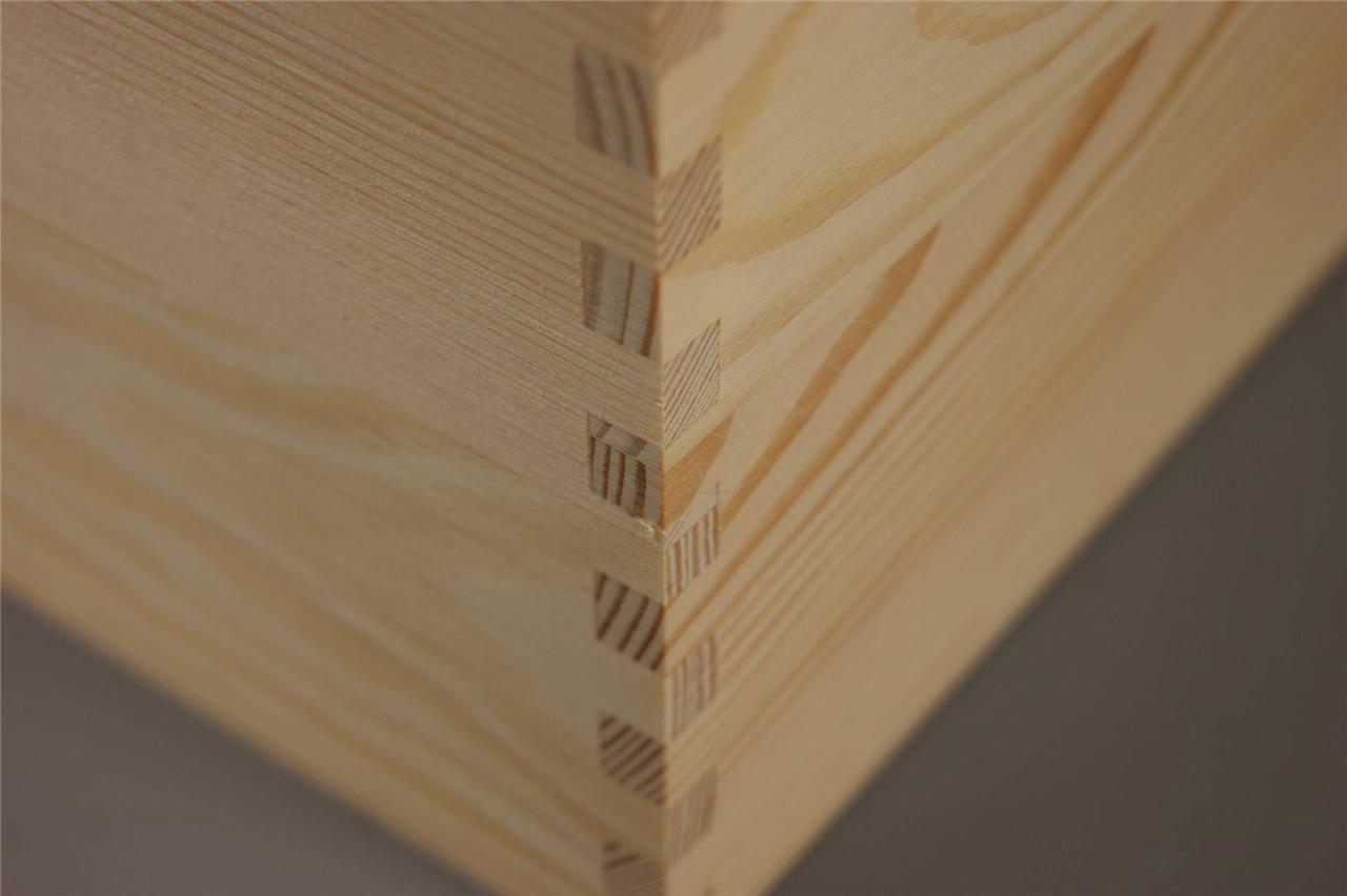 Details about X LARGE TREASURE CHEST PLAIN WOODEN BOX DECOUPAGE CRAFT