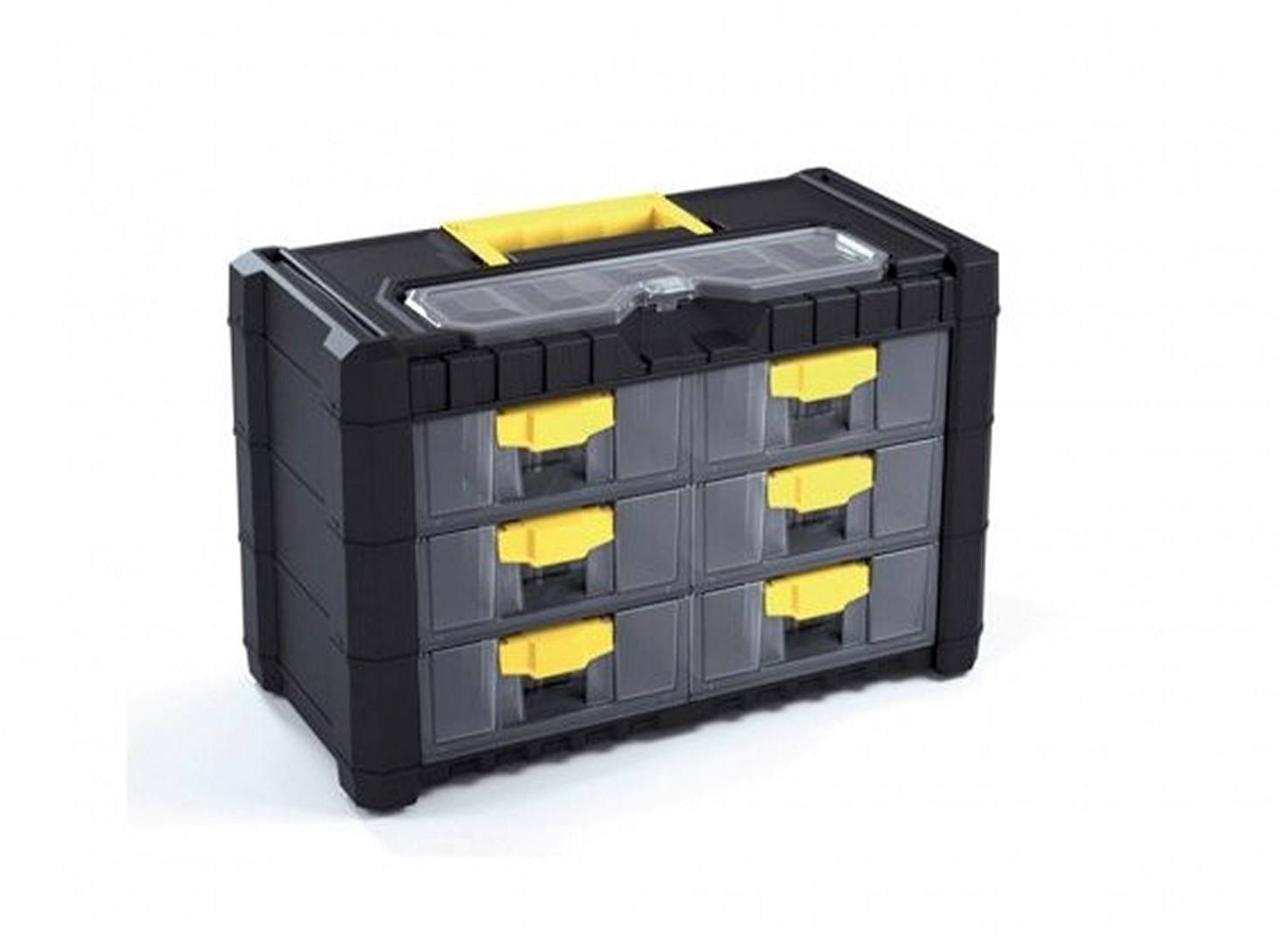 Tool box hobby small parts storage organizer cabinet tool for Utensil organizer for small drawers