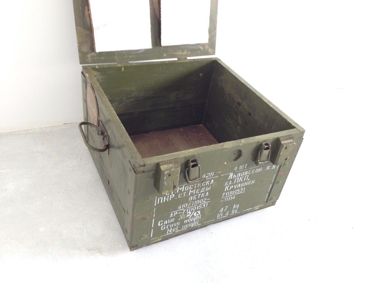 Army Box Ammo Military Storage Box Tool Box Metal Clip