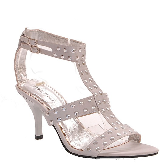 WOMENS-DESIGNER-Shoes-Sexy-Evening-Heels-Silver-Satin-Size-5-6-7-8-9-10-NEW