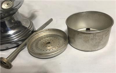 Farberware Coffee Pot Electric Cord : Vintage Farberware Art Deco Chrome Electric Percolator Coffee Pot No cord eBay