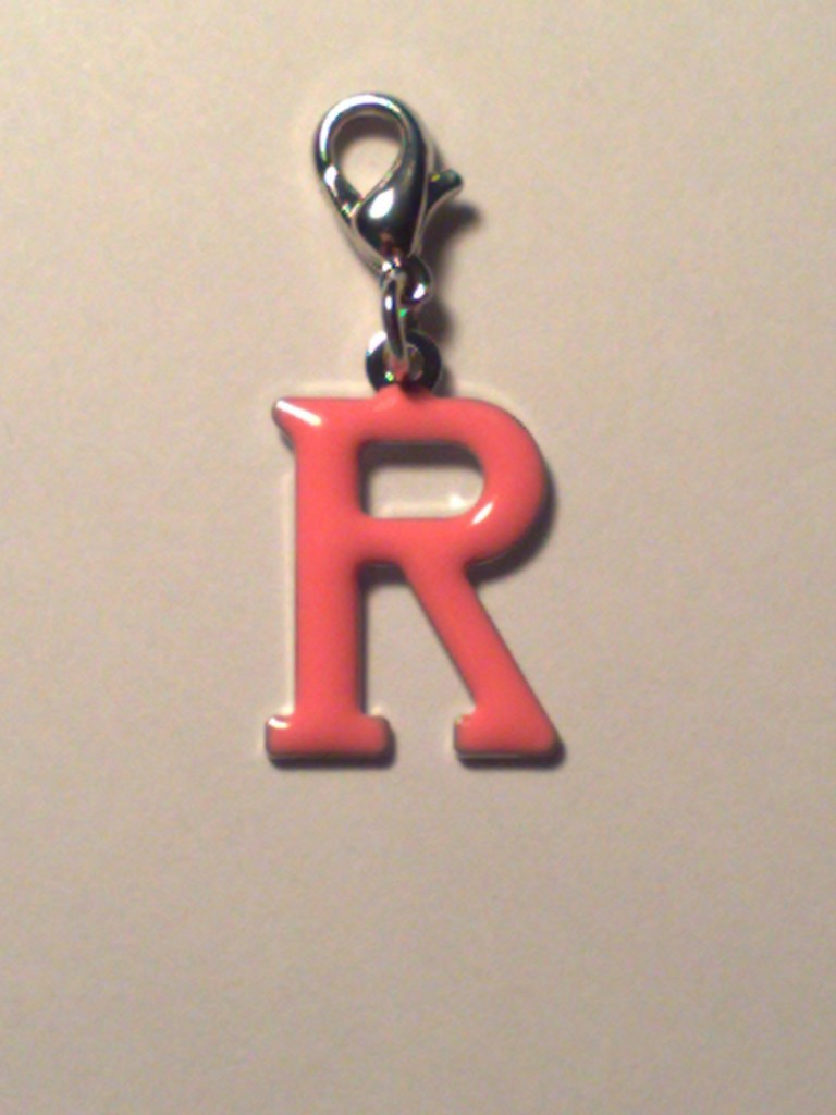 The Letter R In Orange Orange-letter-r-charm-for-bracelet-bag-necklaceThe Letter R In Orange