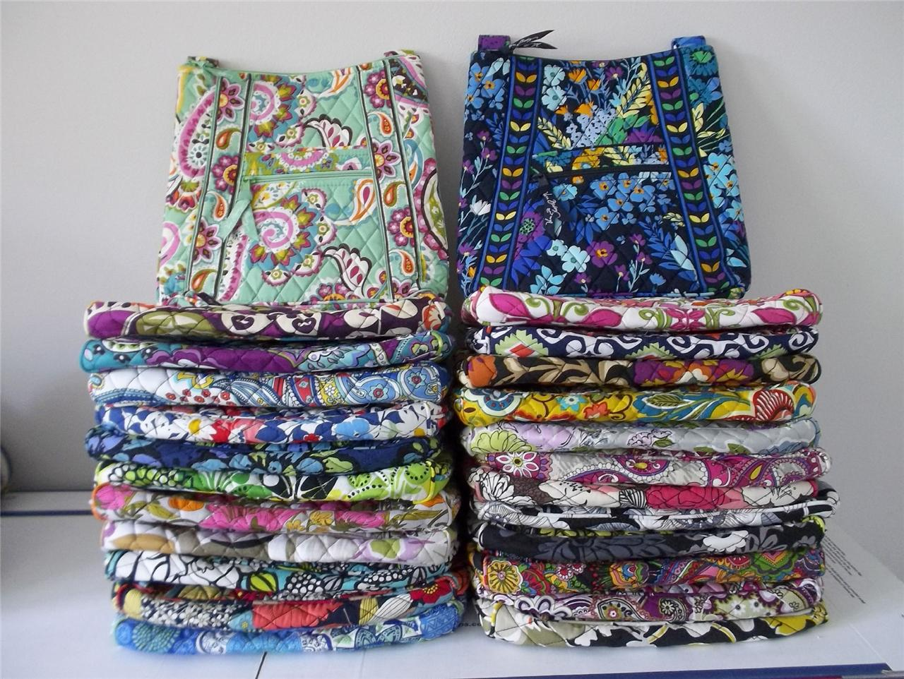 NWT-New-Vera-Bradley-Large-Hipster-Messenger-Bag-In-24-Patterns-to-Choose