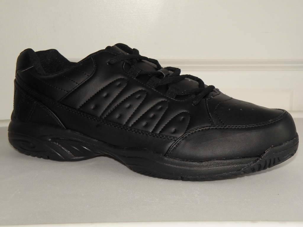 8 13 mens classic casual sneaker new solid black air