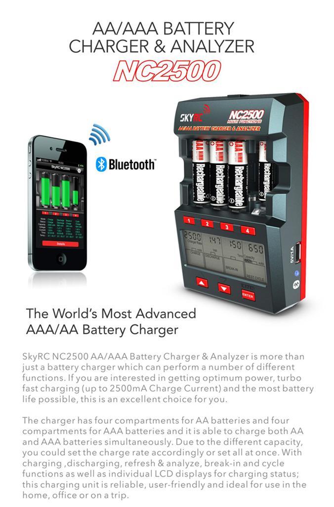 Skyrc Nc2500 Aa Aaa Nimh Battery Balance Charger