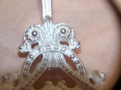 rebecca collins millenium 2000 pendant silver acrylic ebay